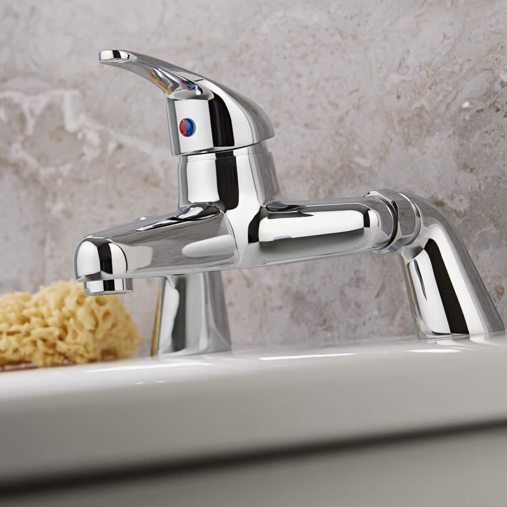 Klassische Badewannenarmatur zur Wannenrandmontage - Encore