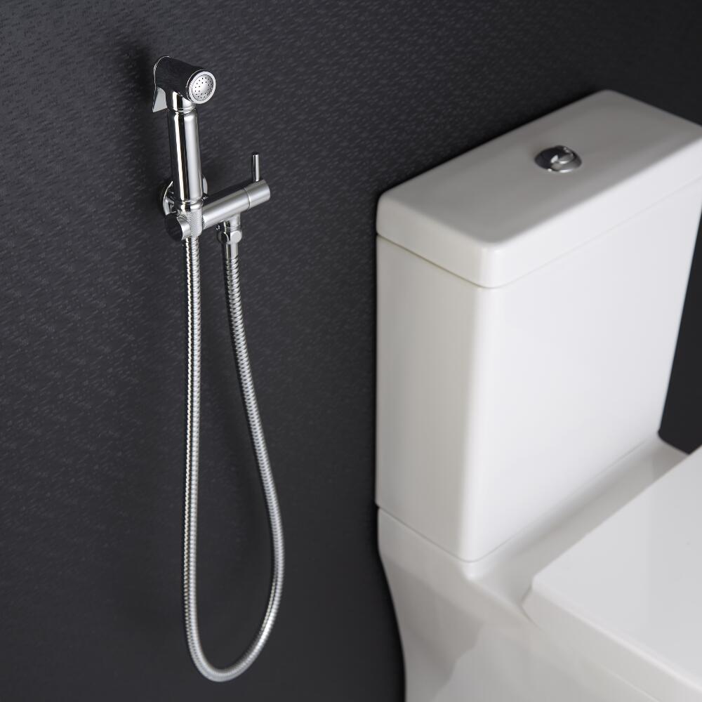 manuelle Hygienedusche für Bidets Modern-Rund