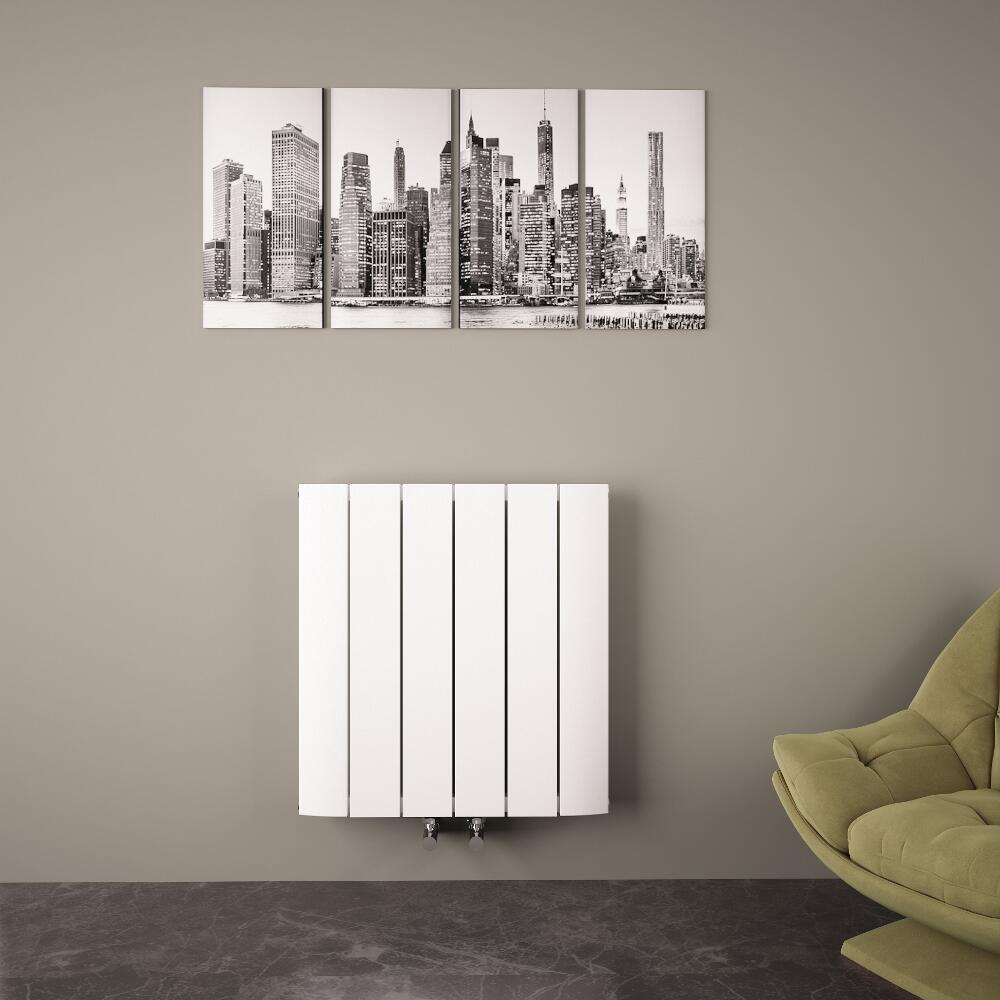 design heizk rper horizontal einlagig mittelanschluss. Black Bedroom Furniture Sets. Home Design Ideas