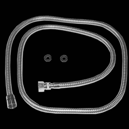 Duschschlauch Chrom für 4-Loch-Armatur