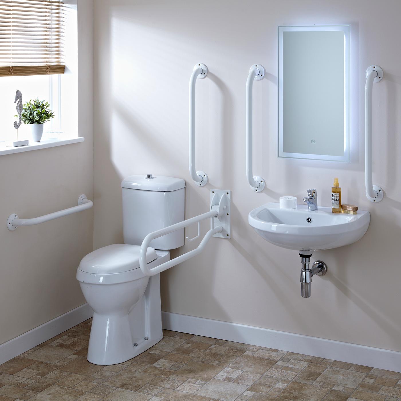 Barrierefreie Toilettenausstattung