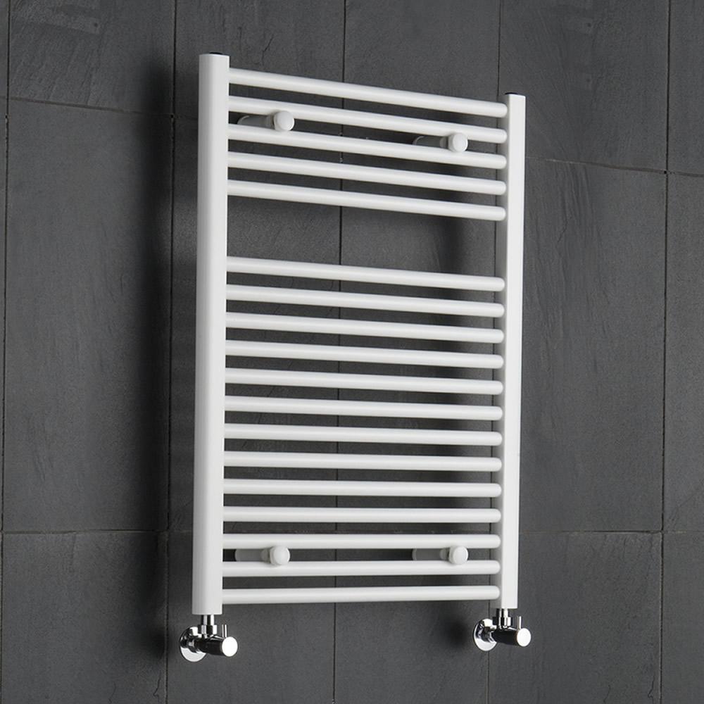 Handtuchheizkörper Weiß 800mm x 600mm 567W - Etna