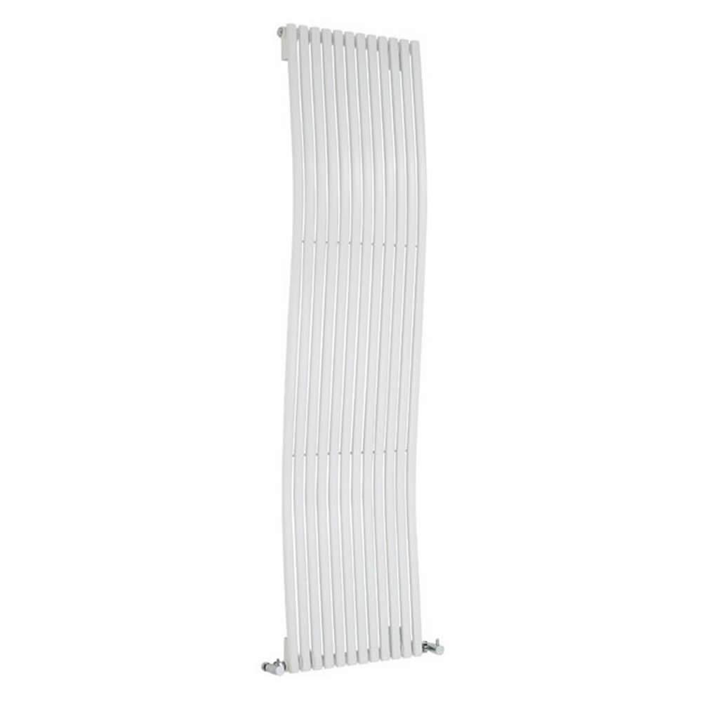 Design Heizkörper Vertikal Einlagig Weiß 1600mm x 460mm 1185W - Palero