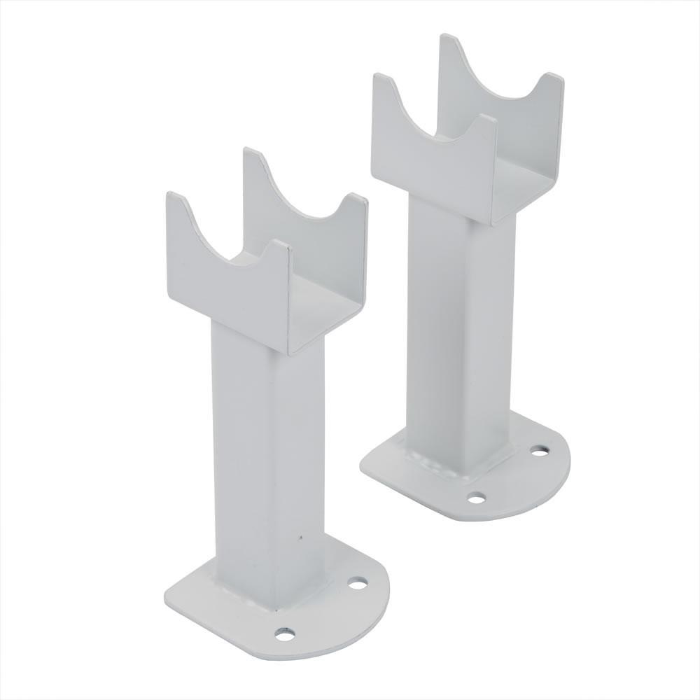 Füße für Design Heizkörper Parallel in Weiß