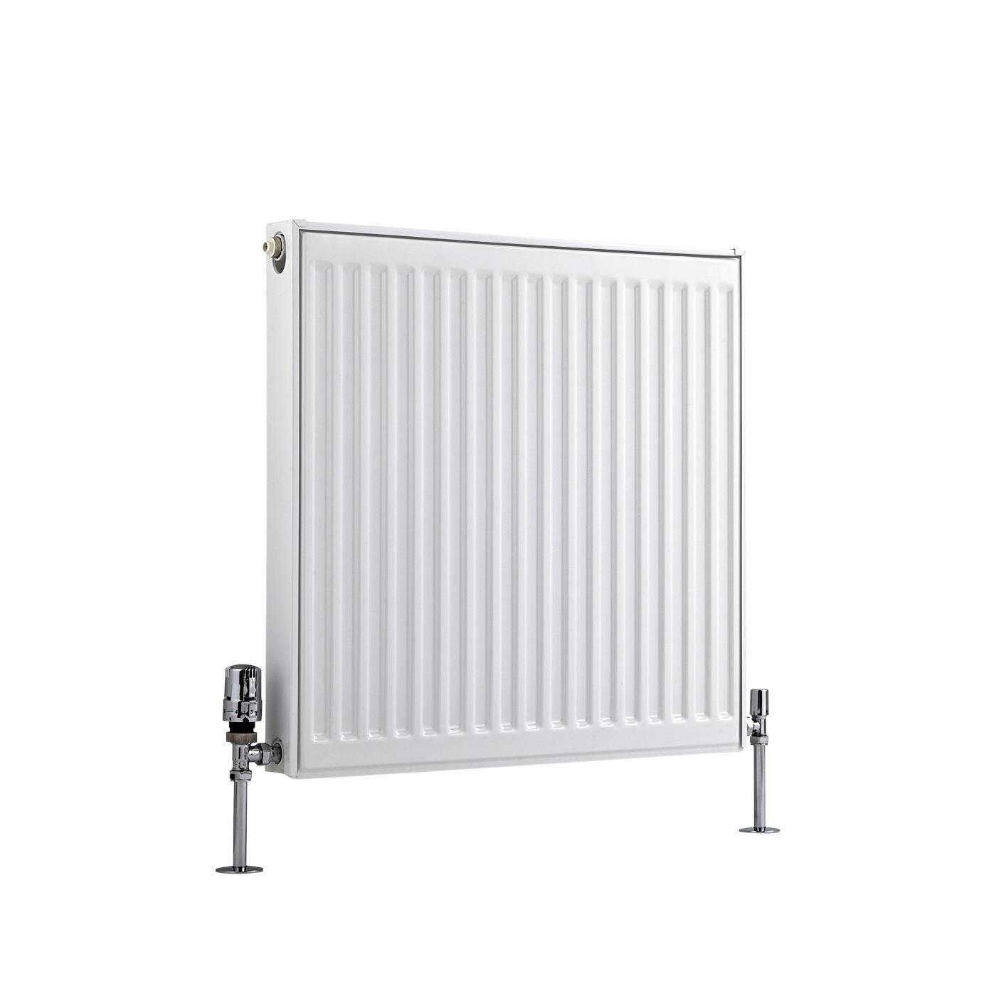 Kompaktheizkörper Horizontal Typ 11 Weiß 600mm x 600mm 555W - Eco