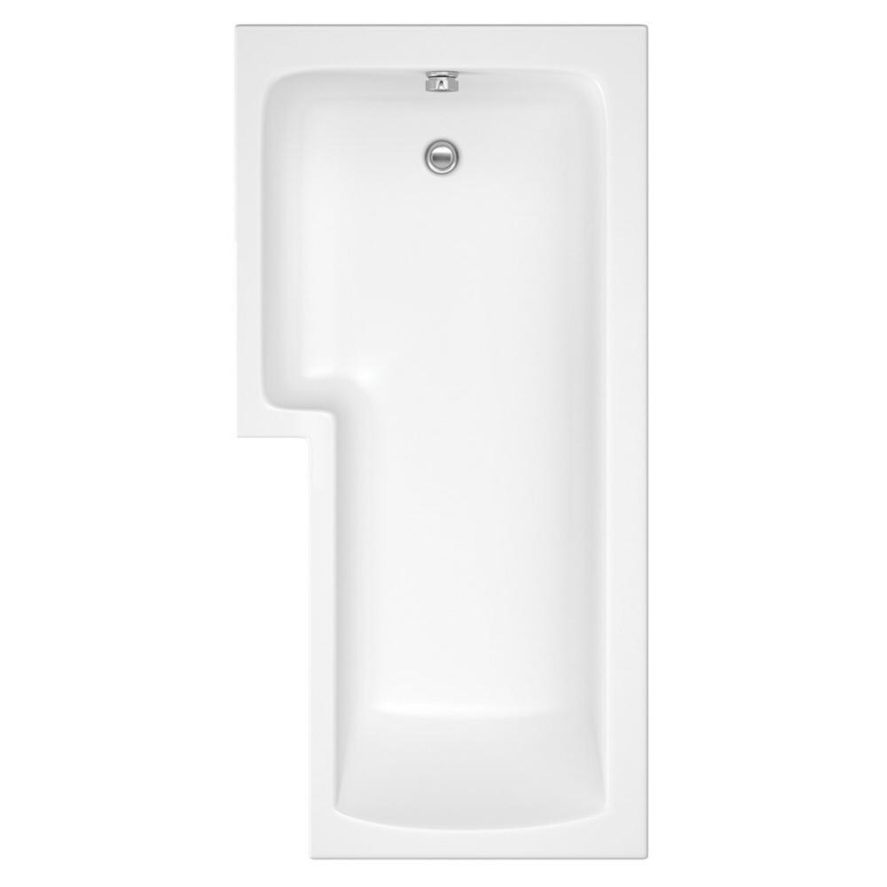 Moderne Dusch- und Badewanne für die linke Ecke 1700mm - ohne Paneel