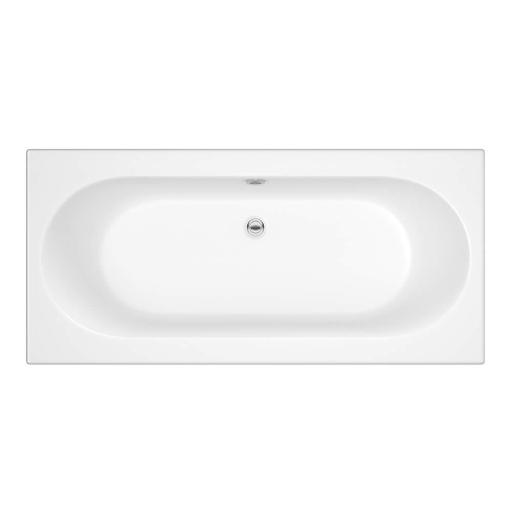 Standard Badewanne 1700mm x 700mm Oval - ohne Paneel
