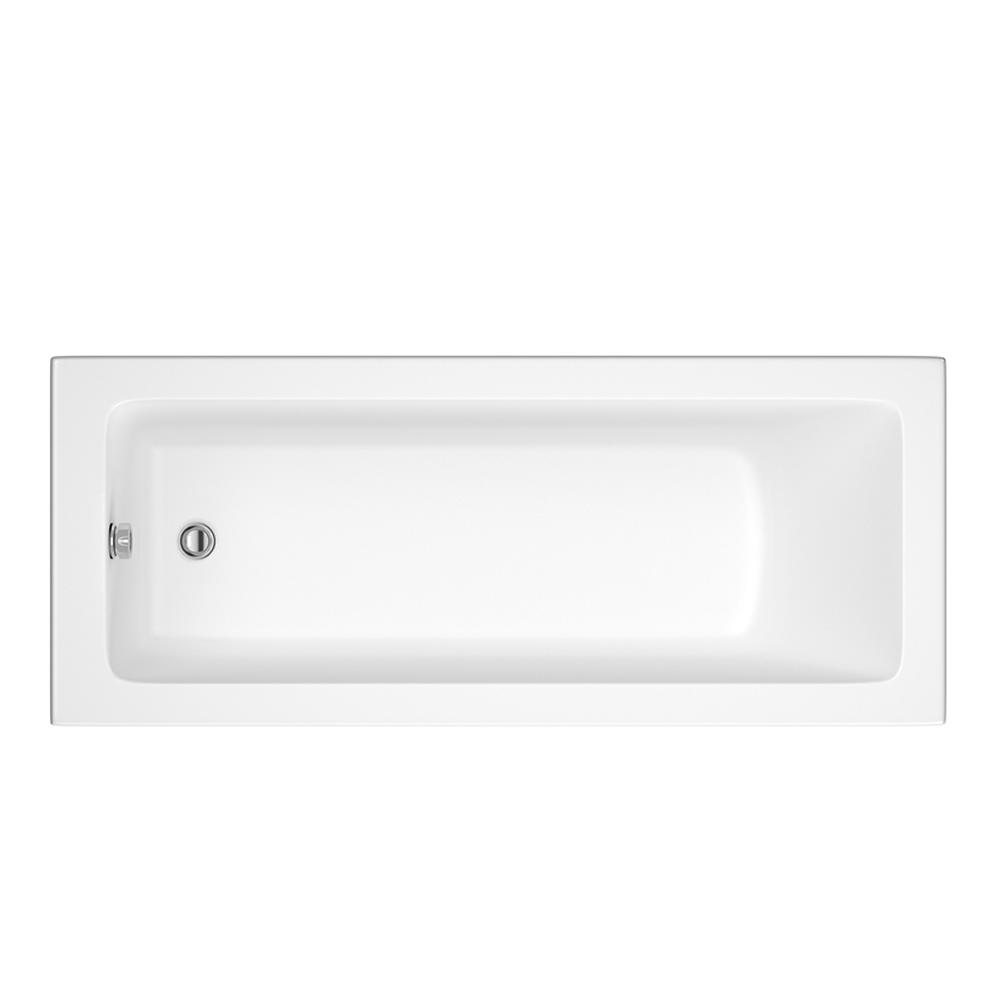 Einbau-Badewanne Rechteckbadewanne 1600mm x 700mm - ohne Panel