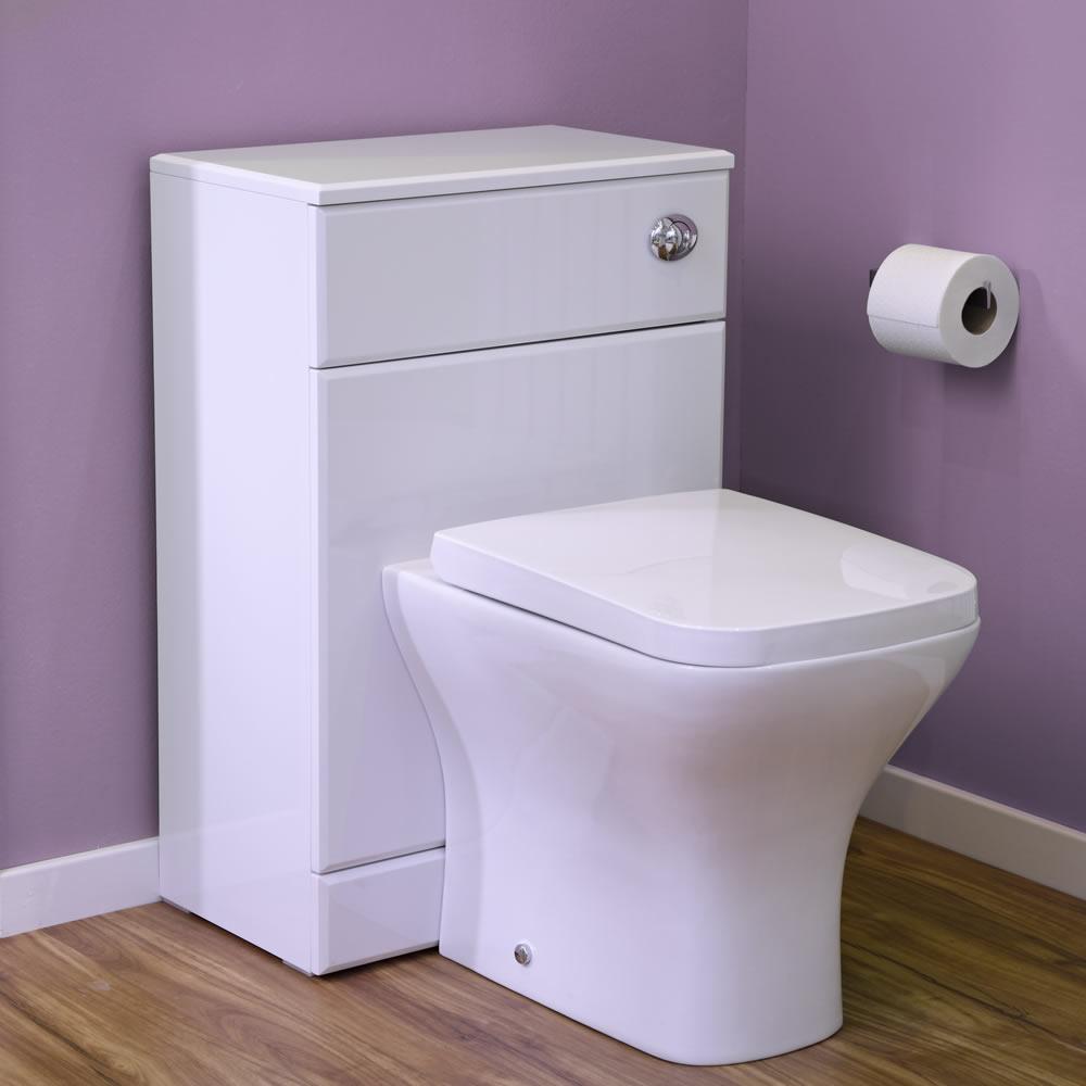 Moderne Toilette inkl. Sitz mit Absenkautomatik - Milton