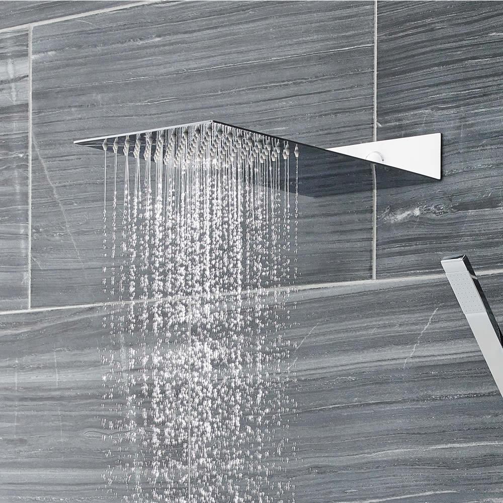 Wassersparender Duschkopf Edelstahl Verchromt - Sheet