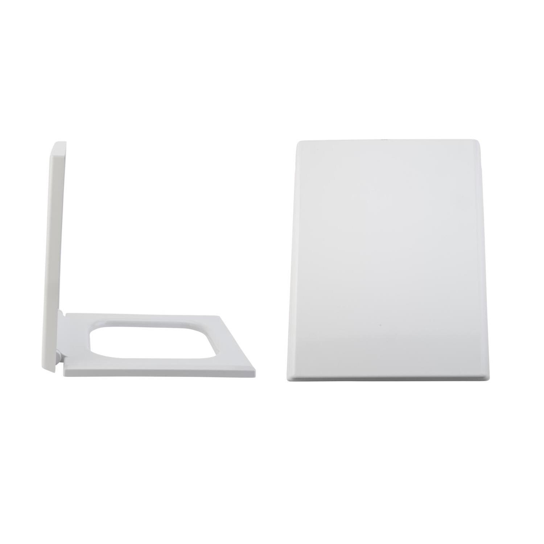 Toilettensitz Duroplast Fast Fix & Absenkautomatik, Befestigung von oben - Haldon
