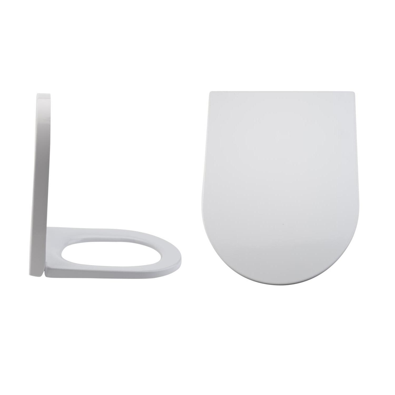 Toilettensitz Duroplast Fast Fix & Absenkautomatik, Befestigung von oben - Alswear