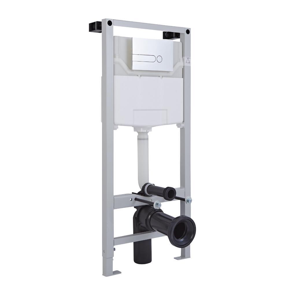 Wandrahmen für Toiletten zur Wandmontage inkl. Spülkasten 1150mm x 500mm