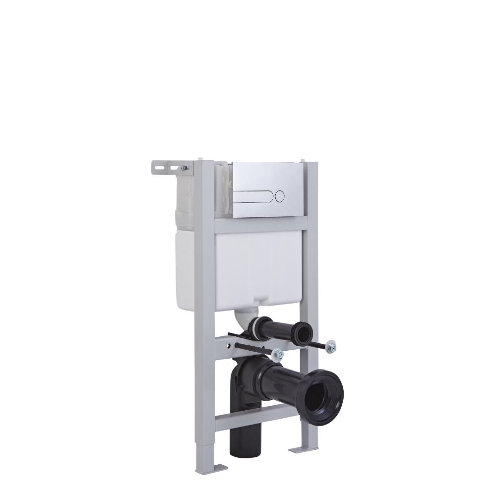 Wandrahmen inkl. Spülkasten für Toiletten mit Verkleidung 820mm x 400mm