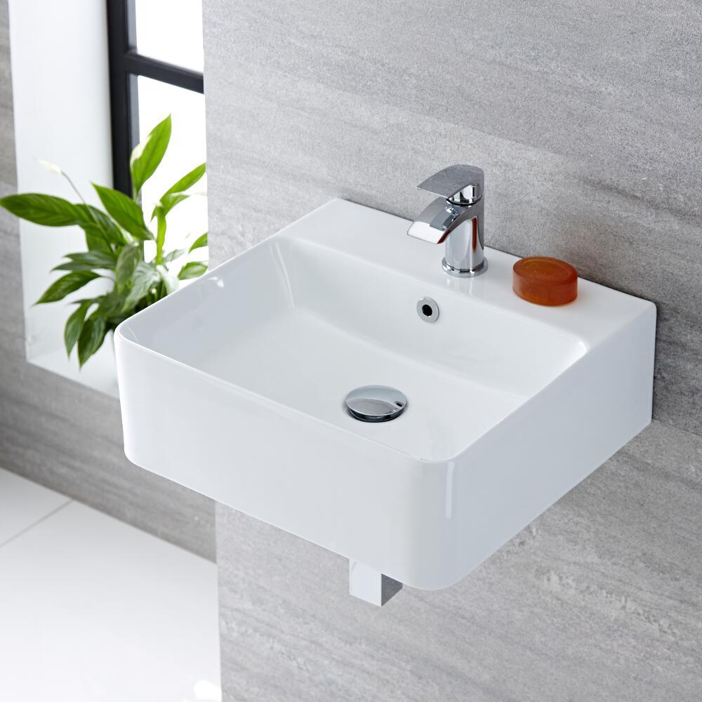 Waschbecken Rechteckig 460mm x 420mm - Exton