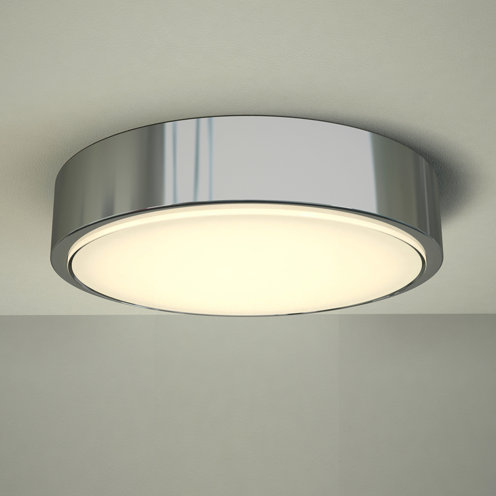 Zell Ø284 LED Deckenleuchte für Badezimmer Chrom