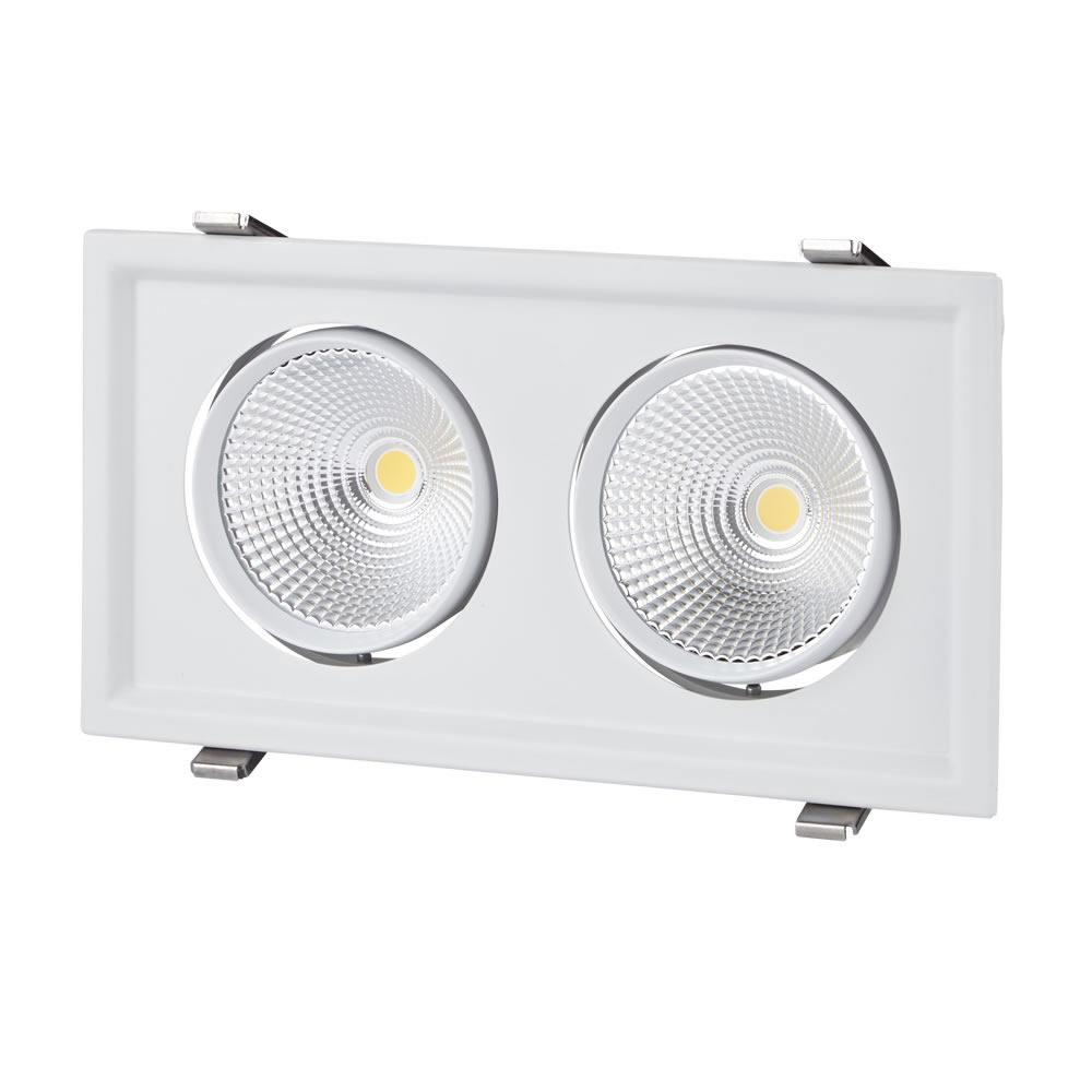 Biard 60W Doppelte Versenkte LED Deckenleuchte - Multi-Direktional