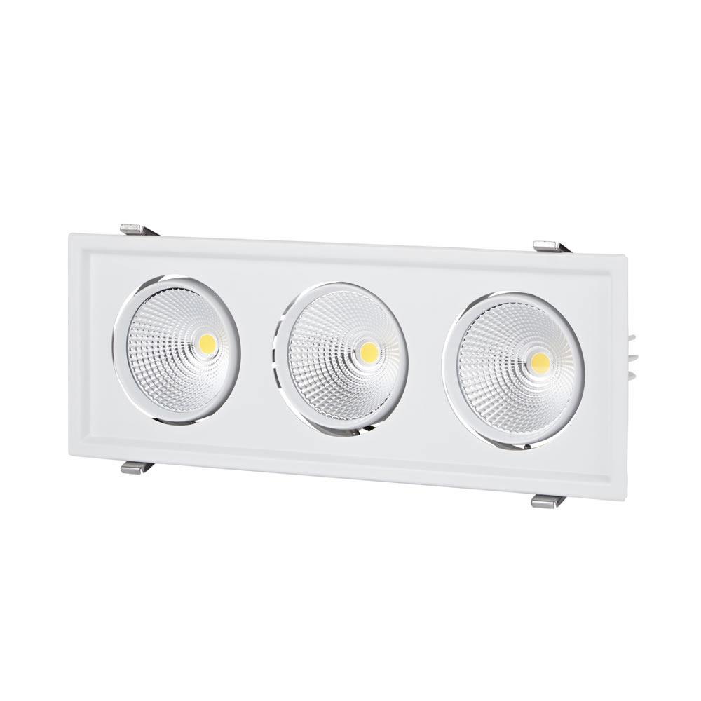 Biard 90W Dreifache Versenkte LED Deckenleuchte - Multi-Direktional