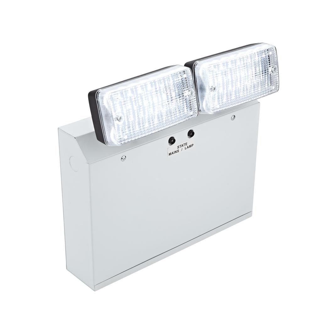 Biard Notleuchte mit 2 LED Spots