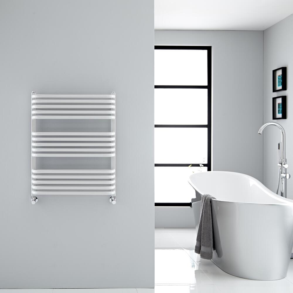 Handtuchheizkörper Vertikal Weiß 736mm x 600mm 896W - Arch