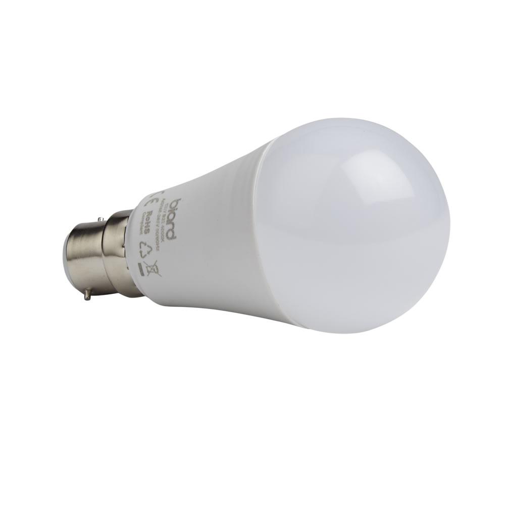 Biard 6x LED Birne 12W Milchglas mit B22 Fassung