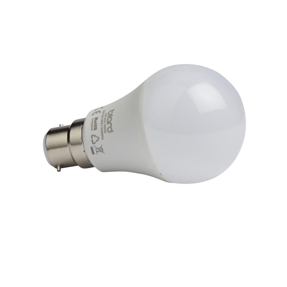 Biard 6x Dimmbare LED Birne 4,5W Milchglas mit B22 Fassung