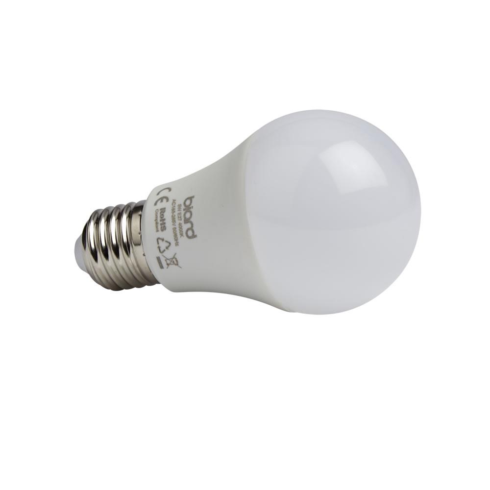 Biard 6x LED Birne 4,5W Milchglas mit E27 Gewinde