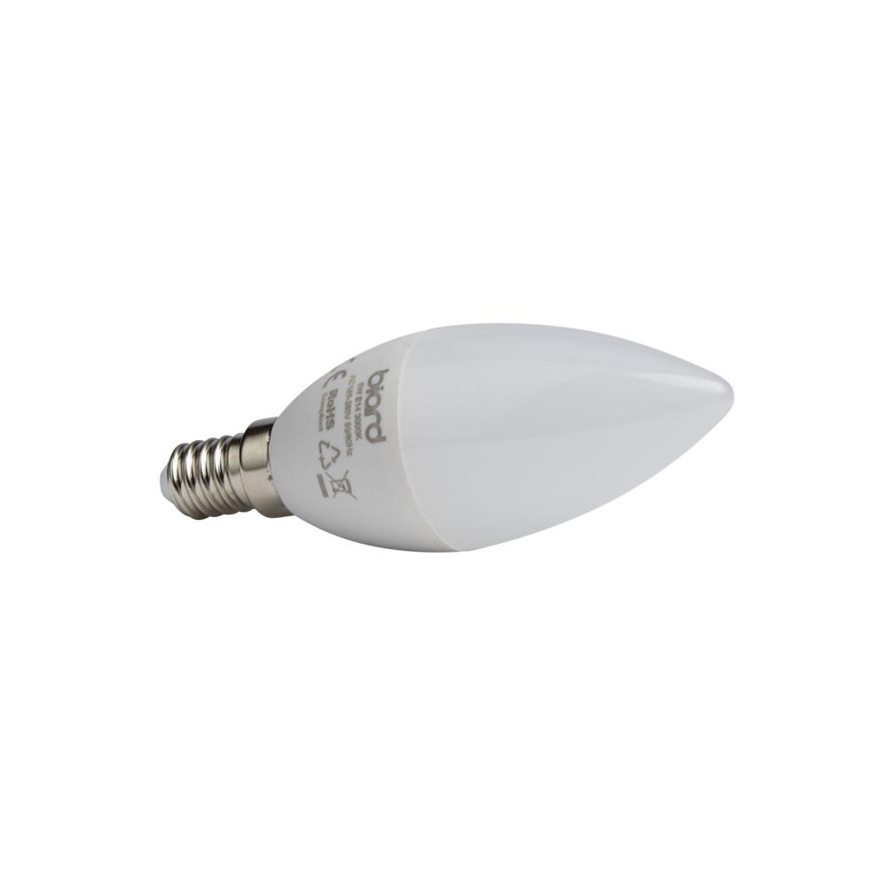 Biard 6x LED Kerzen 5W Milchglas mit E14 Fassung