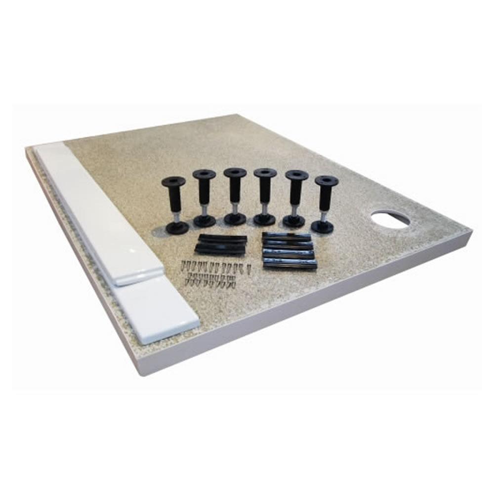 Unterbau für Duschtassen quadratisch/rechteckig bis zu 1000mm