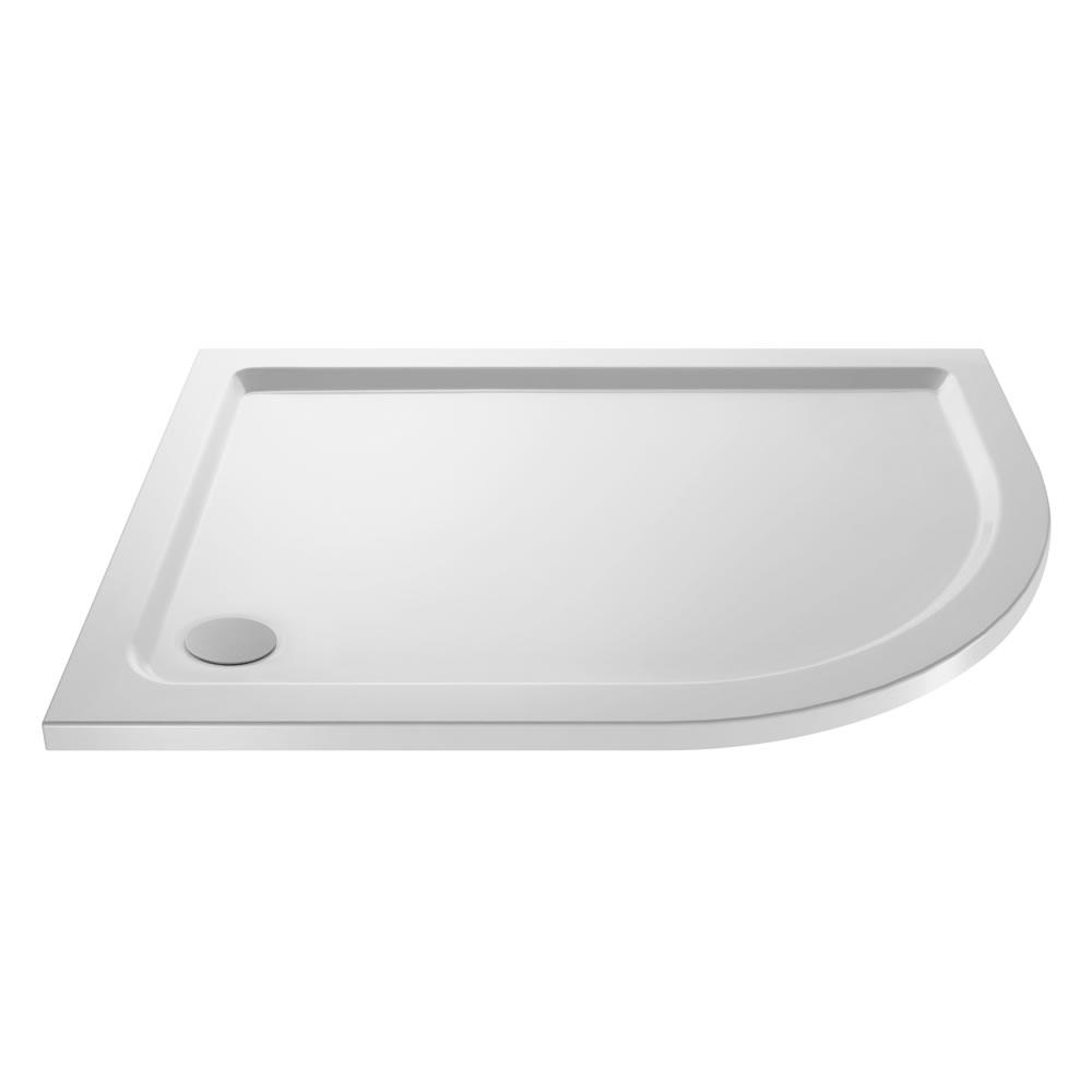 Ebenmäßige Duschwanne Extra Leicht 1000x800 mm