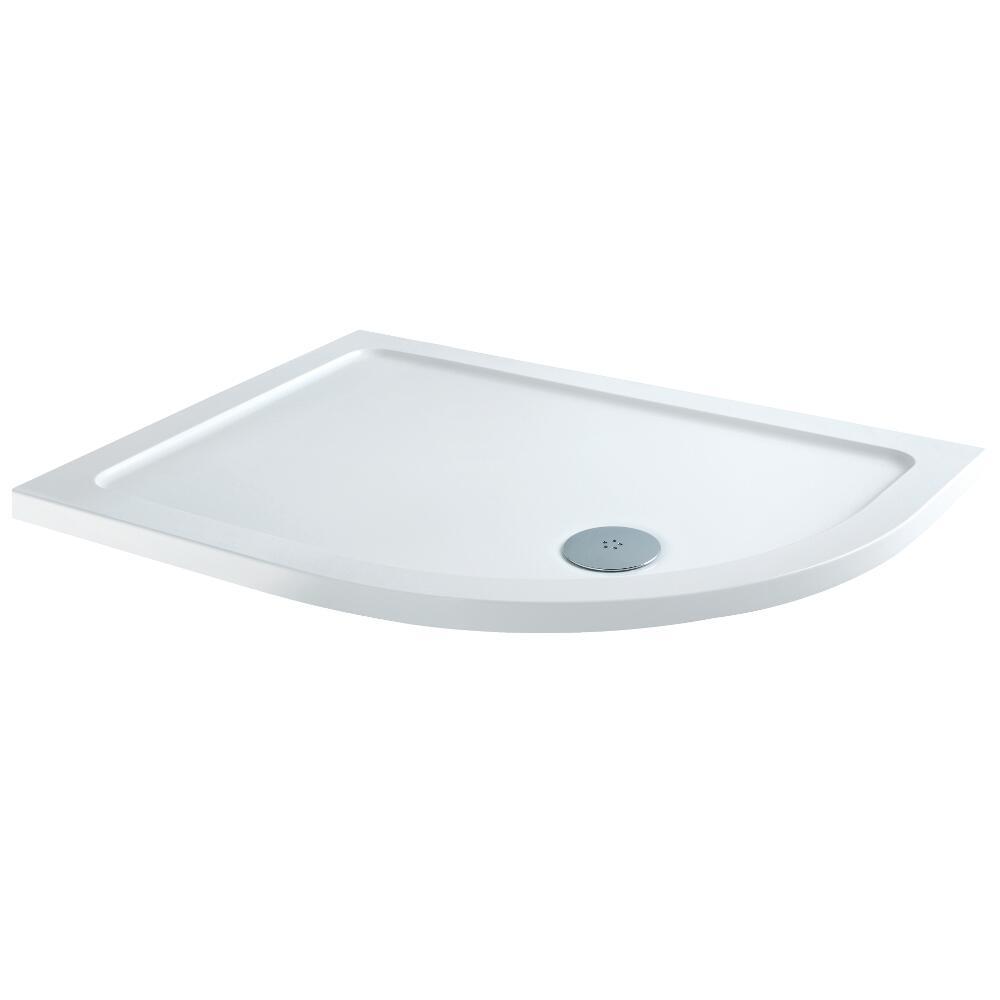 Ebenmäßige Duschtasse Extra Leicht 1000x800 mm