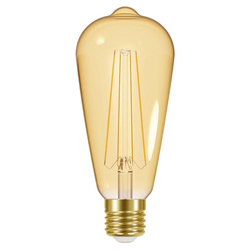 Energizer LED 5W E27 ST64 Goldene Glühfaden Birne - 6er-Set