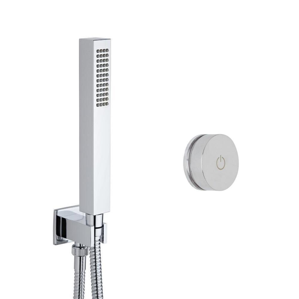 Digitale Dusche für eine Funktion, inkl. eckiger Handbrause - Narus