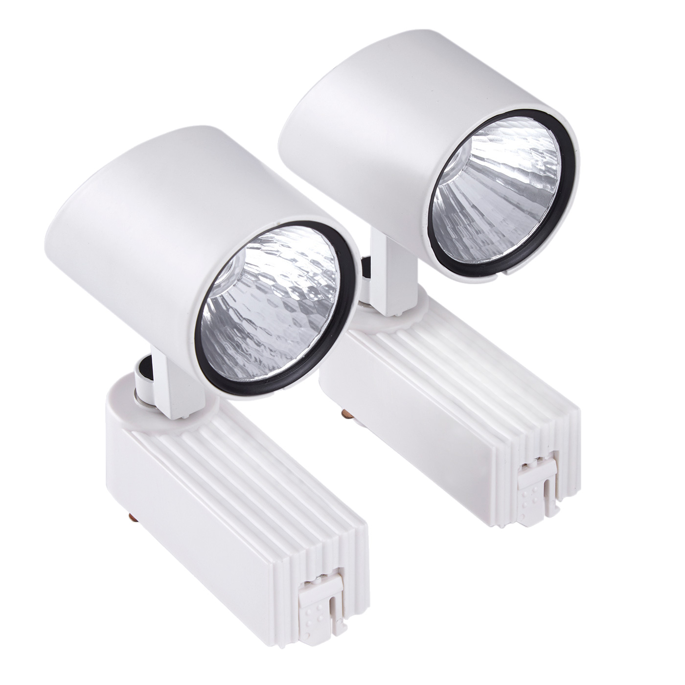 Biard LED Schienenleuchte im Doppelpack Weiß 7W