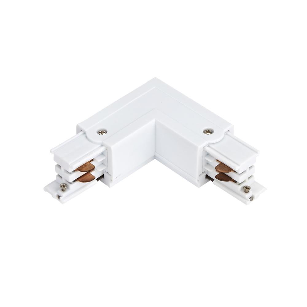 Biard L-förmiges Dreiphasen-Verbindungsstück Weiß