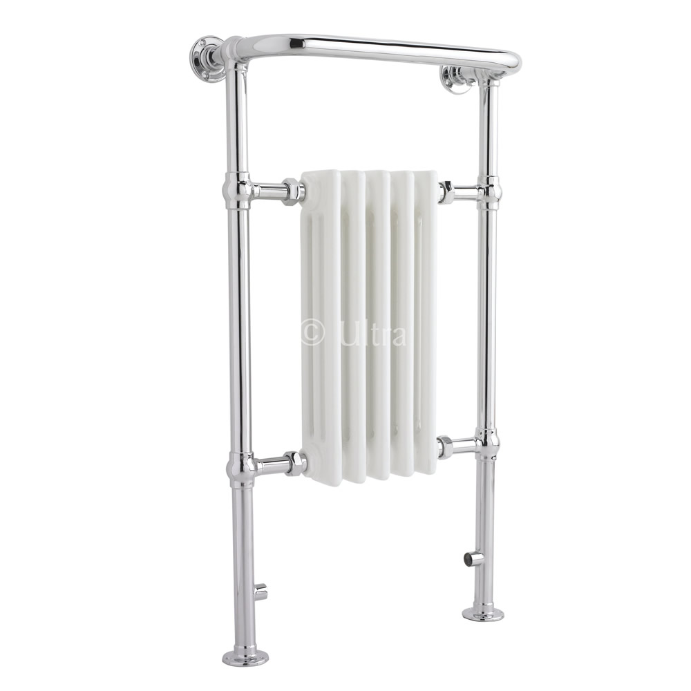 Handtuchheizkörper 3 Säulen Chrom 965mm x 540mm 511W - Thera