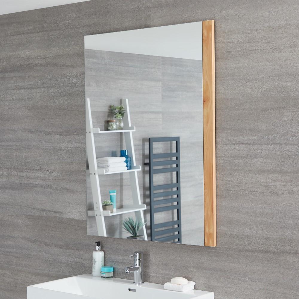 Hudson Reed Newington - 750x1000mm Spiegel Goldene Eiche