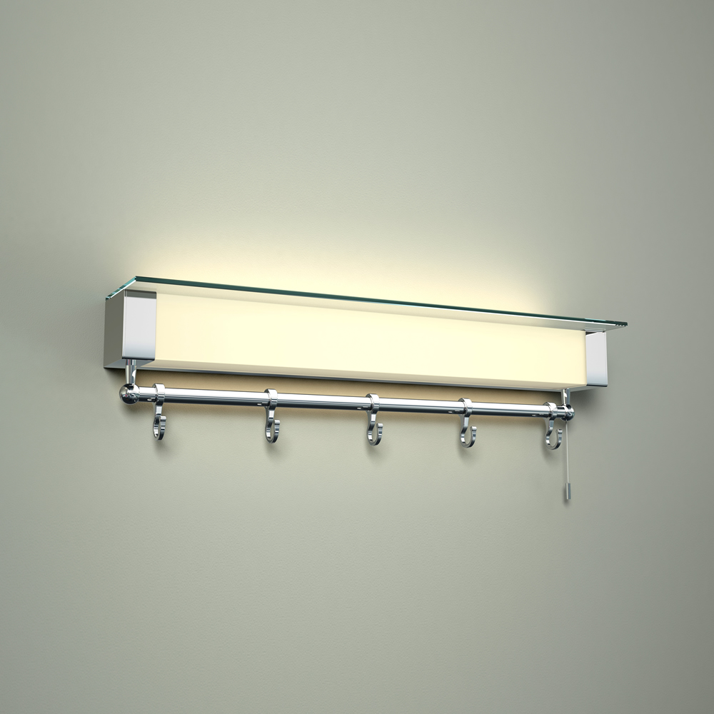 Achen LED Licht mit Ablage und Handtuchhaken