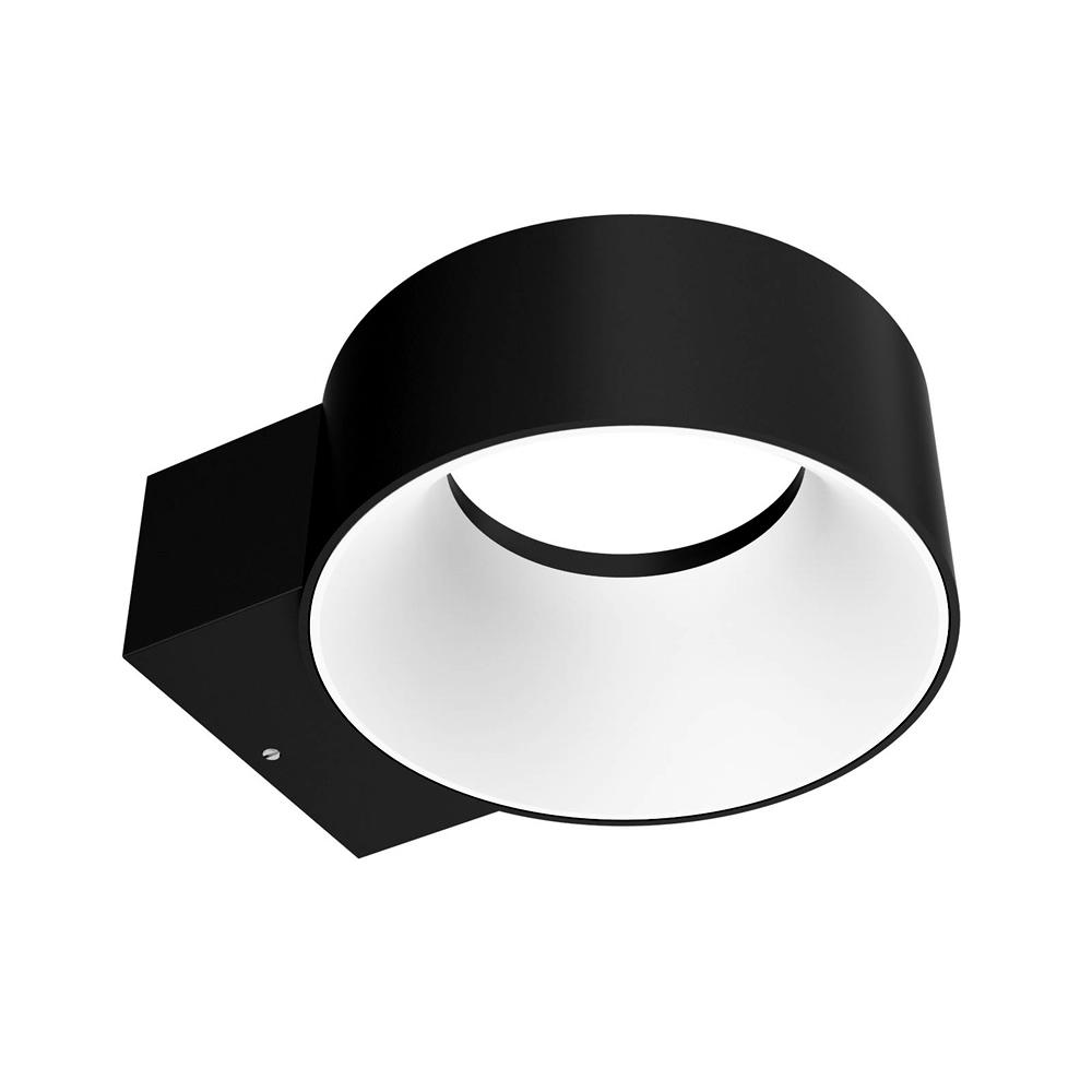 Biard Faro LED 8W IP65 Halo Wandlicht – Schwarz