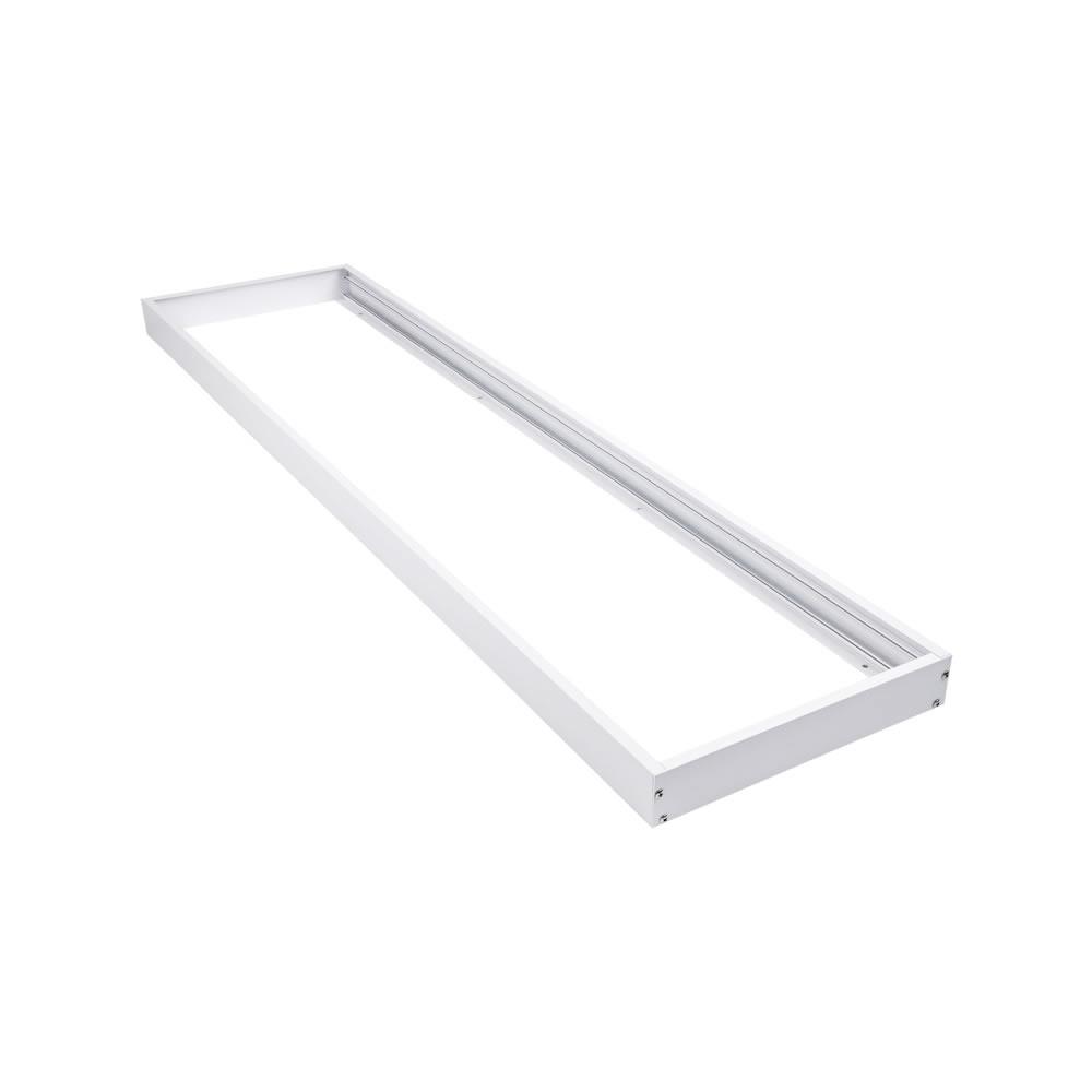 Biard Rahmen zur Oberflächenmontage, 30x120cm LED Paneellleuchte