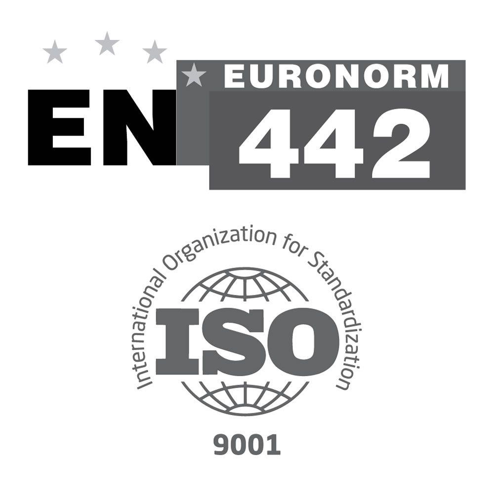 Aurora Aluminium Wei/ß 600mm x 375mm 512W Design Heizk/örper Horizontal Einlagig Mittelanschluss Hudson Reed