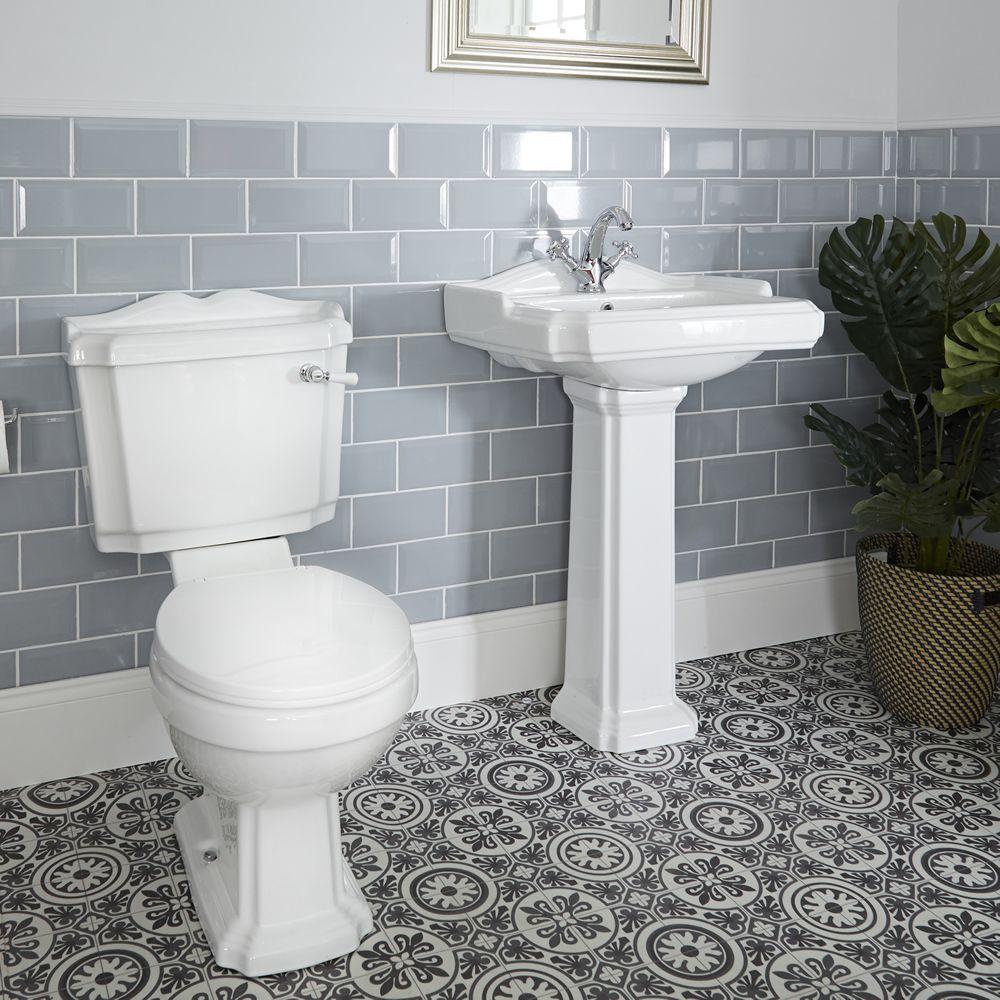 Waschbecken und Toilette Set - Oxford