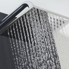 Wassersparender Duschkopf Edelstahl - Quadratisch - 200mm