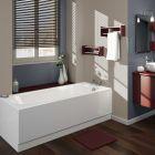 Einbau-Badewanne 1700mm x 700mm mit Paneelen