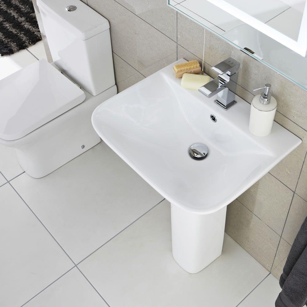 wc mit sp lkasten und waschbecken im set harrison. Black Bedroom Furniture Sets. Home Design Ideas