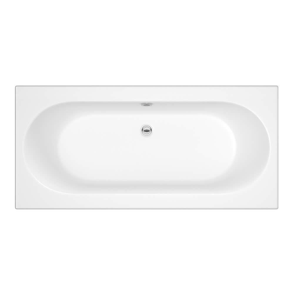 standard badewanne 1700mm x 700mm oval ohne paneel. Black Bedroom Furniture Sets. Home Design Ideas