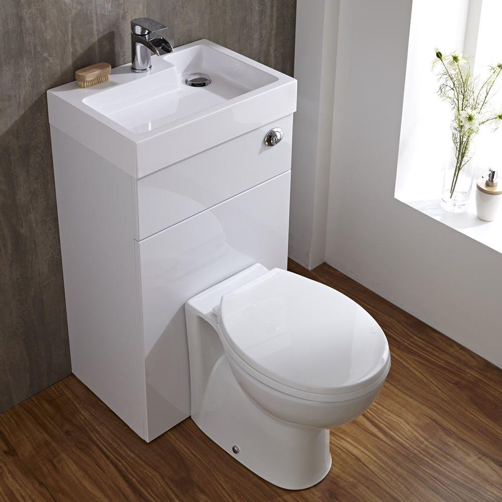 ovale toilette mit sp lkasten und integriertem waschbecken. Black Bedroom Furniture Sets. Home Design Ideas