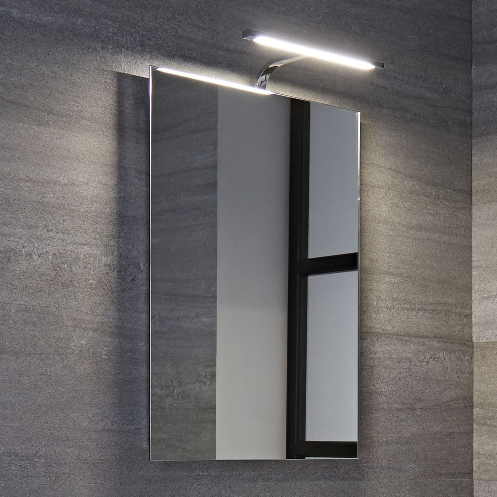 biwa 5w led integrierter spiegel f r badezimmer. Black Bedroom Furniture Sets. Home Design Ideas