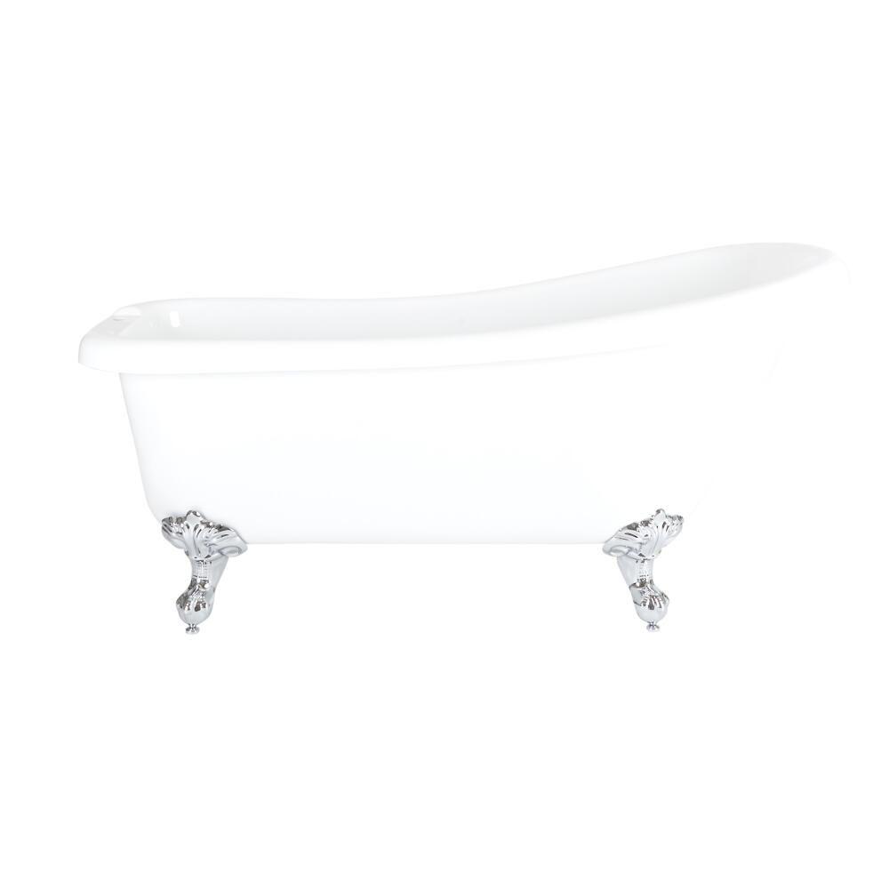 Freistehende Badewanne Roma Mit Auswahlbaren Fussen 1710mm