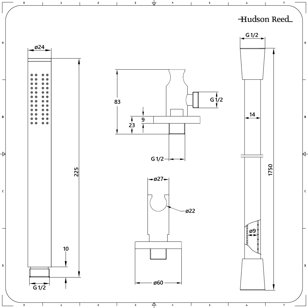 Nox schwarze duscharmatur mit 300x300mm duschkopf und handbrause - Schwarze duscharmatur ...